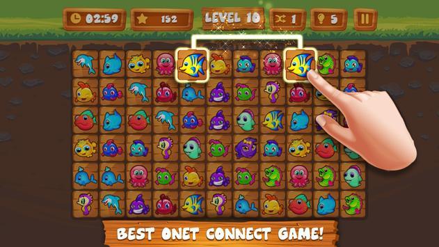 Onet Connect Links Fun Game screenshot 5