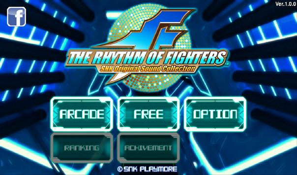 THE RHYTHM OF FIGHTERS poster