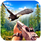 Jungle Sniper Birds Hunting 2018 icon