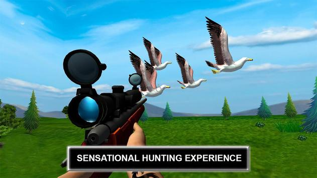 Jungle Sniper Birds Hunting 2018 poster