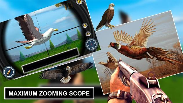Jungle Sniper Birds Hunting 2018 apk screenshot