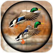 Winter Duck Shooting 3D icon