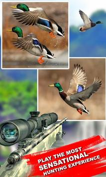 Winter Duck Shooting 3D poster