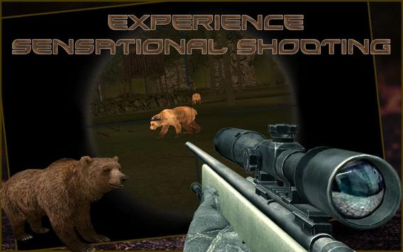 Bear Hunting : Sniper 3d poster