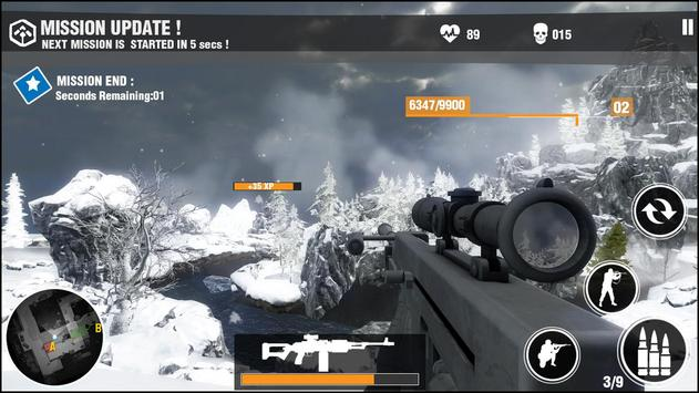 Elite Army Sniper Shooter 3d apk screenshot
