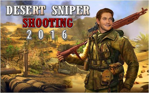 Desert Sniper Shooting - best shooting game poster