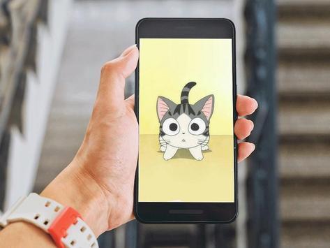 Cute Chibi Cat Wallpapers HD apk screenshot