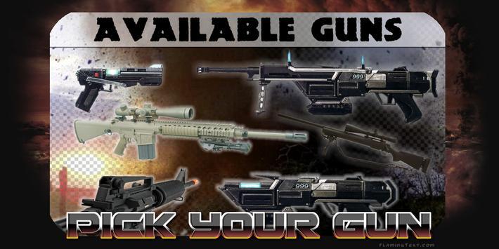 Sniper Shooting X poster