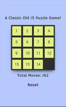 Classic 15 Puzzle Game screenshot 1