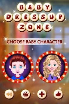Baby Dress Up Zone poster