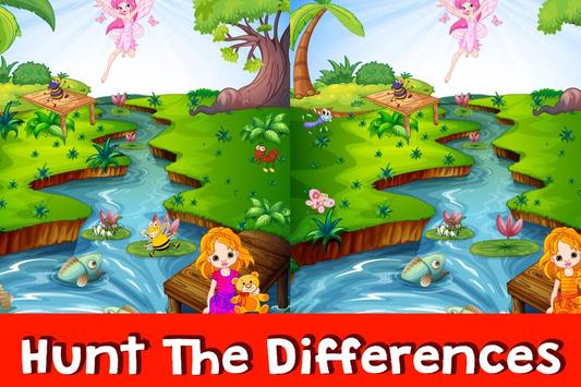 Find the Difference Cartoon 4 poster