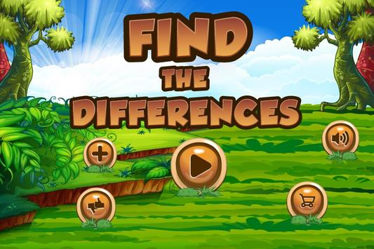 Find the Difference Cartoon 2 poster