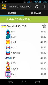 Thailand Oil Price Today poster