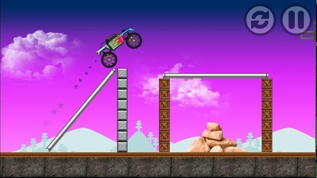 monster truck fire apk screenshot