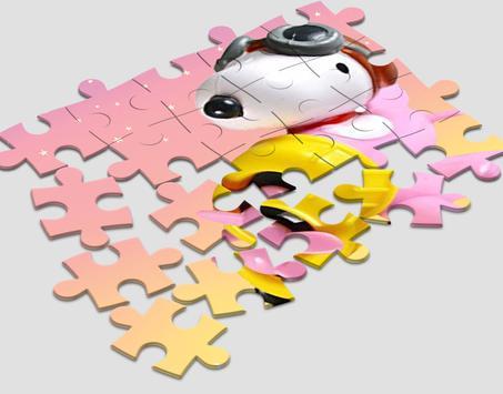 Jigsaw Snoopy Toy Kids poster
