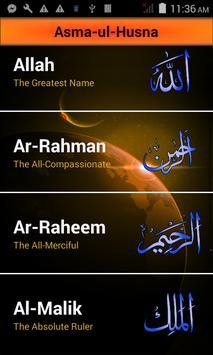 Asma_UL Husna - 99 Allah Name apk screenshot