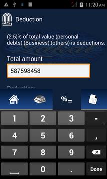 Islamic ZaKat Calculator screenshot 2