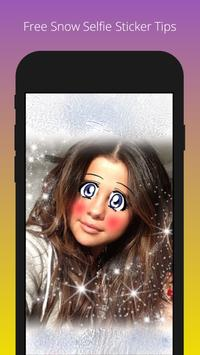 Free Snow Selfie Sticker Tips screenshot 7