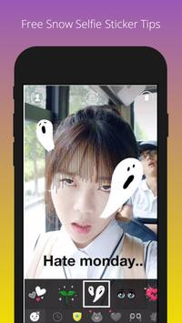 Free Snow Selfie Sticker Tips screenshot 5