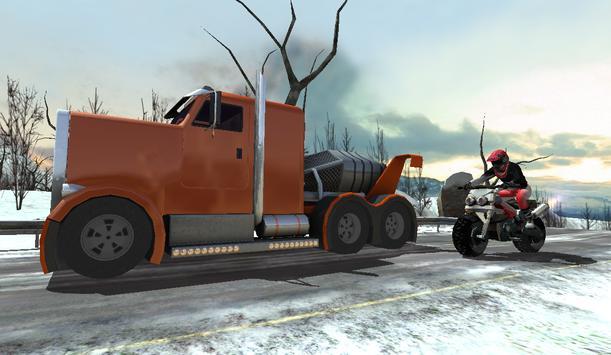 Daredevil Frozen Highway Biker apk screenshot