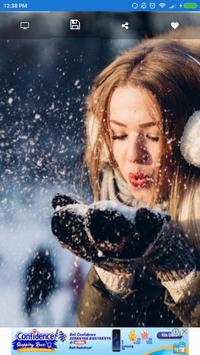 Sexy Snow Photo Wallpaper HD apk screenshot