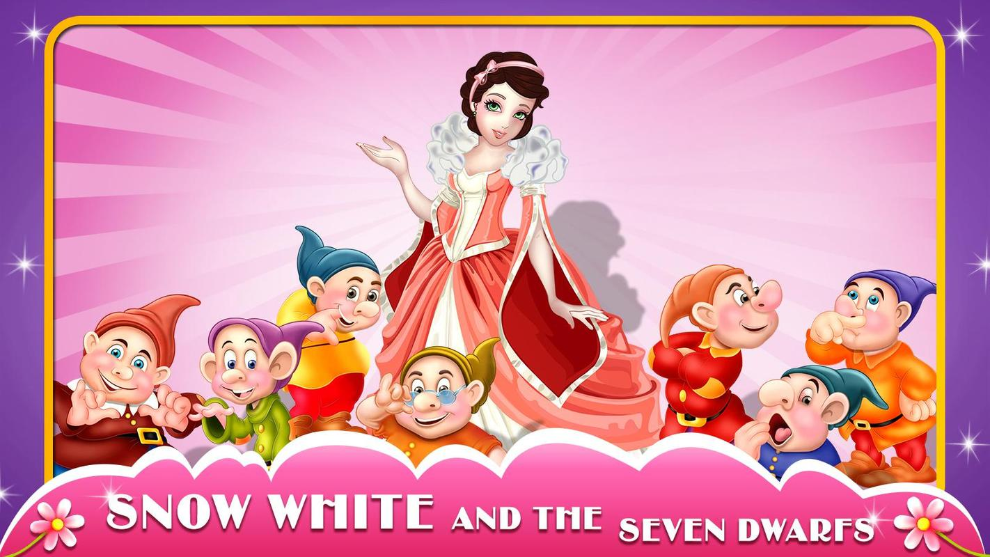 snow white 7 dwarfs story book apk download free. Black Bedroom Furniture Sets. Home Design Ideas