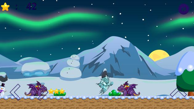 Winter Snow Icy Monster Kids Game poster