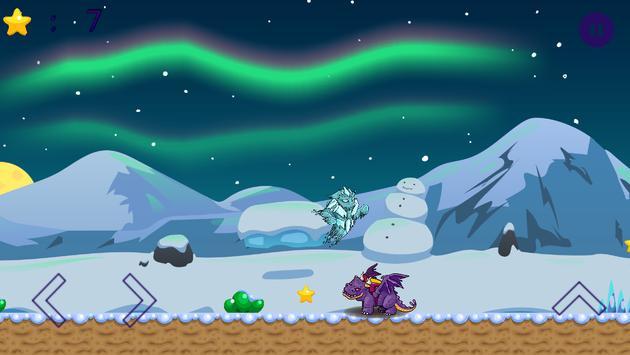 Winter Snow Icy Monster Kids Game screenshot 1