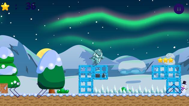 Winter Snow Icy Monster Kids Game screenshot 3