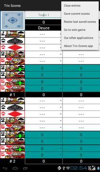 Trix Scores apk screenshot