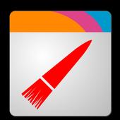 Wizz Theme Blue Transparent icon