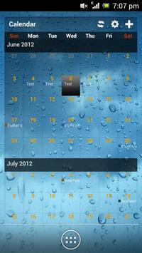 Wizz Theme Blue Transparent apk screenshot
