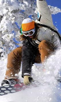 snowboarding live wallpapers poster