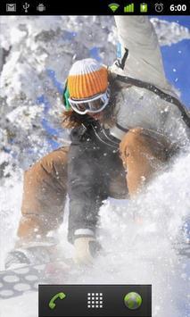 snowboarding live wallpapers screenshot 1
