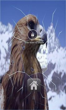 Snow Eagle Lock Screen poster