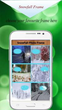 Snowfall Photo Frame Editor HD - Snowfall Editor screenshot 10