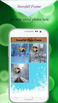 Snowfall Photo Frame Editor HD - Snowfall Editor screenshot 5