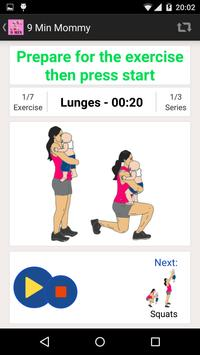 9 Minute Mommy & Baby Workout screenshot 9