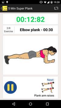 5 Minute Super Plank Workout screenshot 10