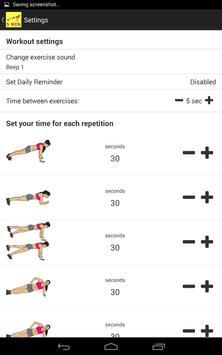 5 Minute Super Plank Workout screenshot 3