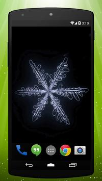 Snowflake Live Wallpaper poster