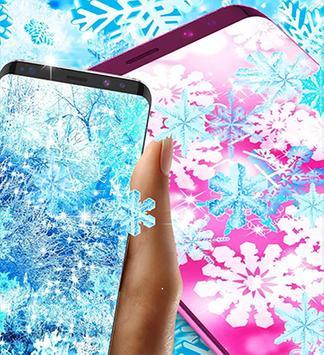 snowfall live wallpaper hd poster