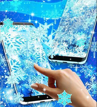 snowfall live wallpaper hd screenshot 1