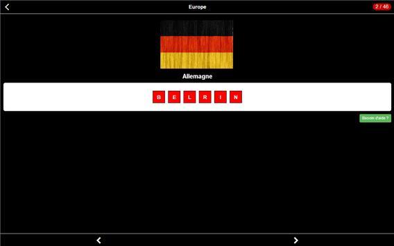 Capitales Quizz screenshot 12