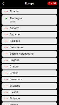 Capitales Quizz screenshot 4