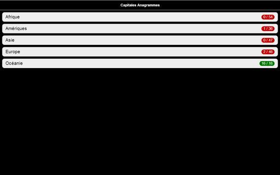 Capitales Quizz screenshot 5