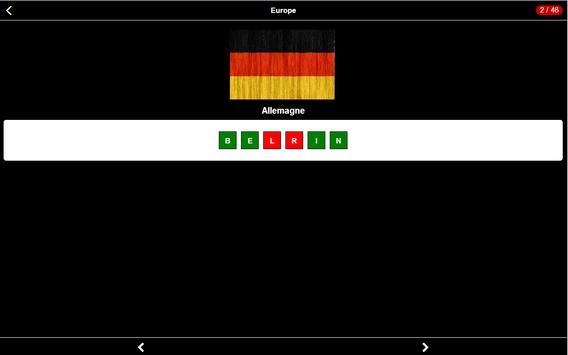 Capitales Quizz screenshot 8