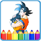 How To Color Dragon Ball Z -dbz new games icon