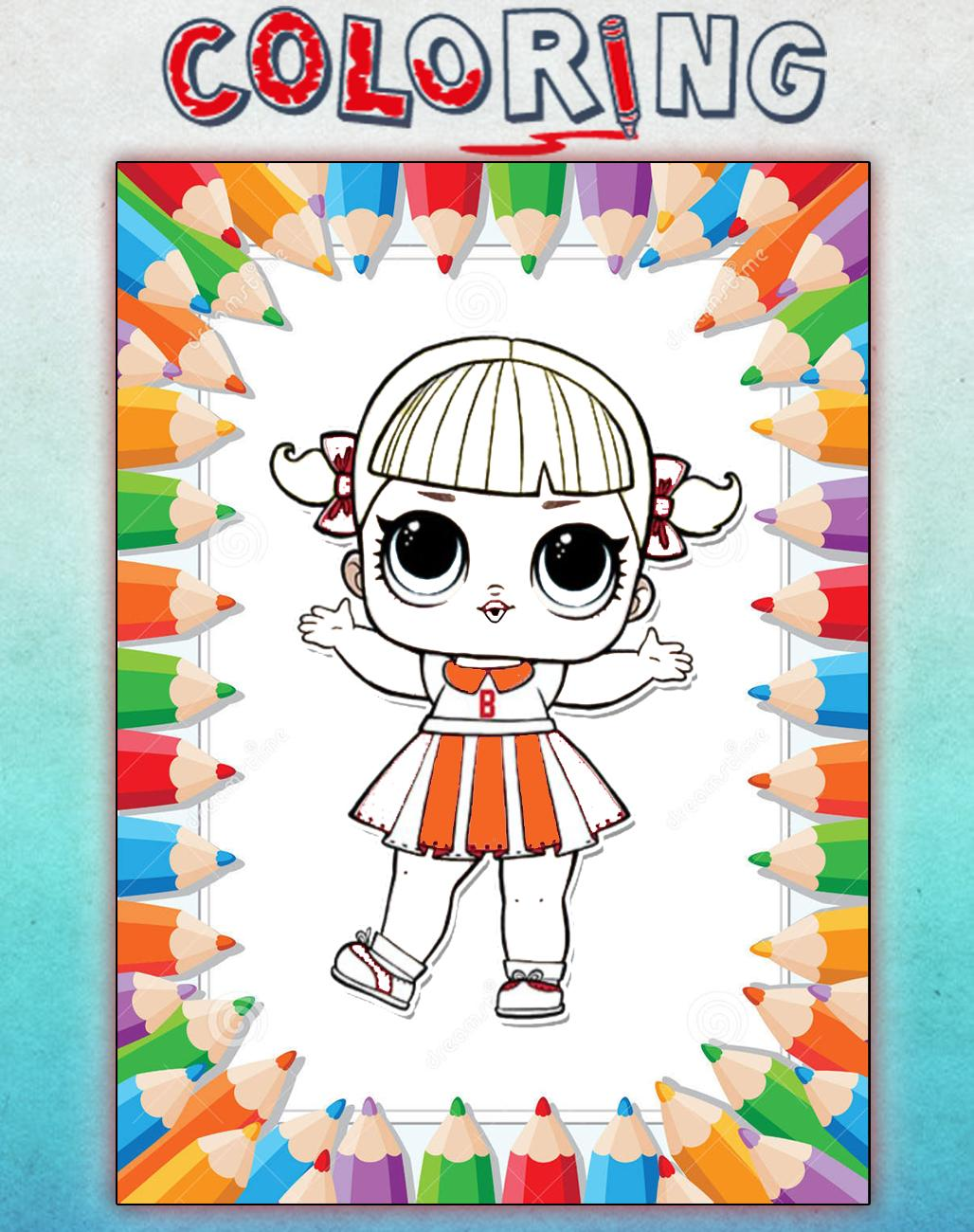 How To Color Lol Doll Surprise New Lol Doll Games For Android