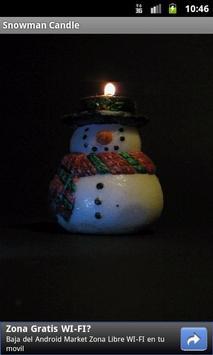 SnowMan Candle apk screenshot